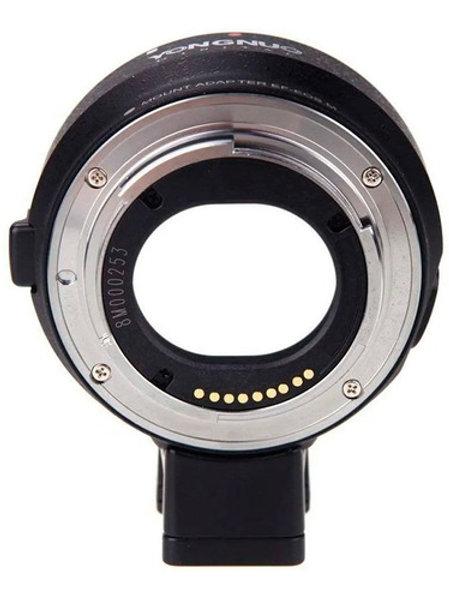 Adaptador yongnuo para Canon EF a  Canon M