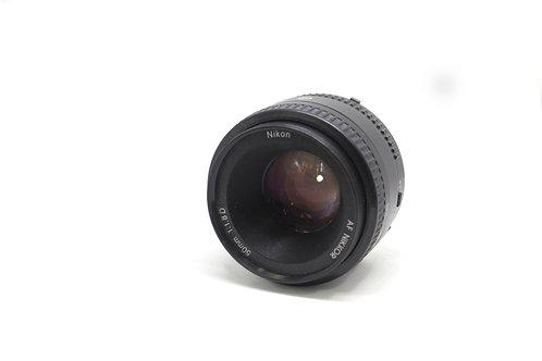 Lente Nikon 50mm D (Manual)