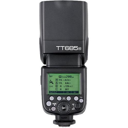 Flash Godox TT685II para camaras Nikon