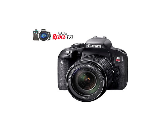 CANON EOS REBEL T7I CON LENTE 18 - 55MM