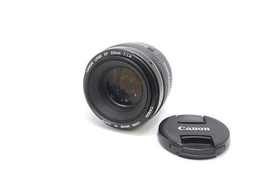 Lente 50mm 1.4 Linea  Dorada Canon