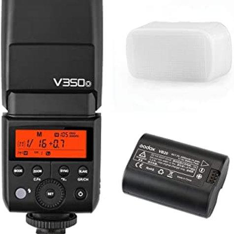 Flash Godox V350 Para camaras Sony