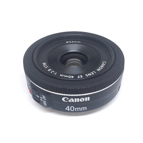 lente 40mm Canon Usado en buen estado