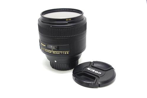 Lente Nikon 85mm 1.8