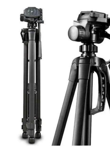 Trípode para  Foto  y Video Compatible con camaras y celulares 35-40