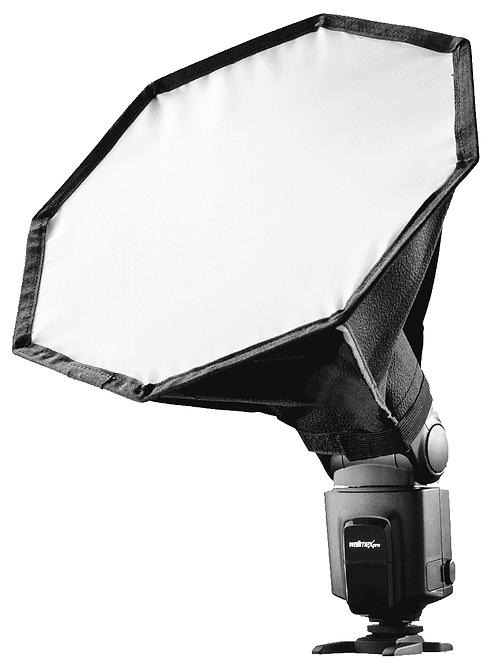 Softbox Octagonal para Flashes Speedlight