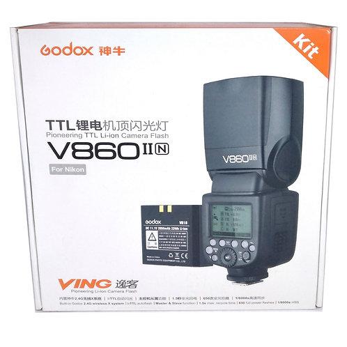 Flash Godox V860II para Camaras Nikon