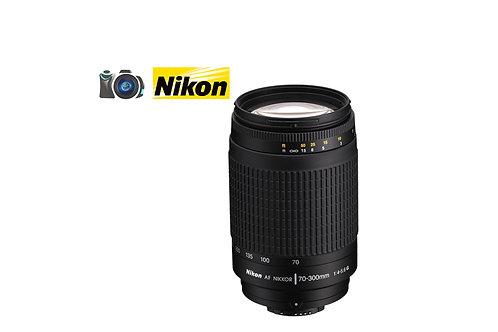 LENTE NIKON 70-300 F4-5.6 G MANUAL