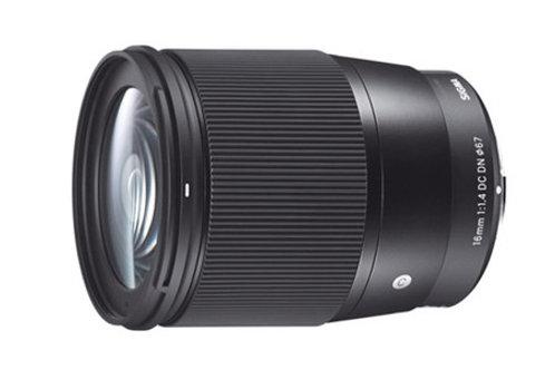 Lente  Lente Sigma 16mm F 1.4   Para Sony E
