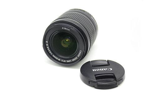 Lente 18-55mm Canon EFS con estabilizador