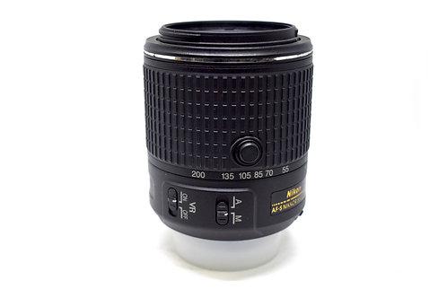 Lente 55-200 Nikon AF-S con VR