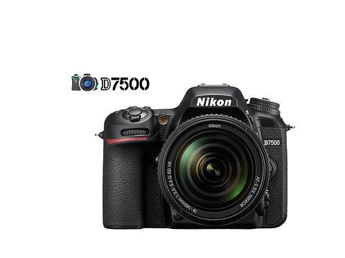 NIKON D7500 CON LENTE 18-140mm