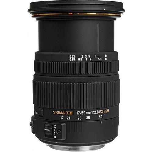 Lente 17-50mm f/2.8 SIGMA para Canon