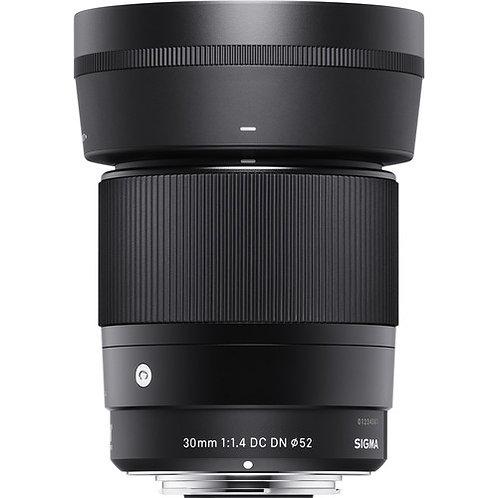 Lente Sigma 30mm F 1.4  Para Sony Mount E