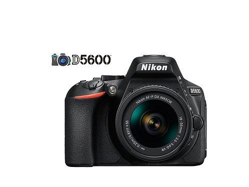 NIKON D5600 CON LENTE 18-55mm