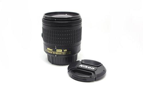 Lente 18-55mm Nikon DX, VR (AF-P)