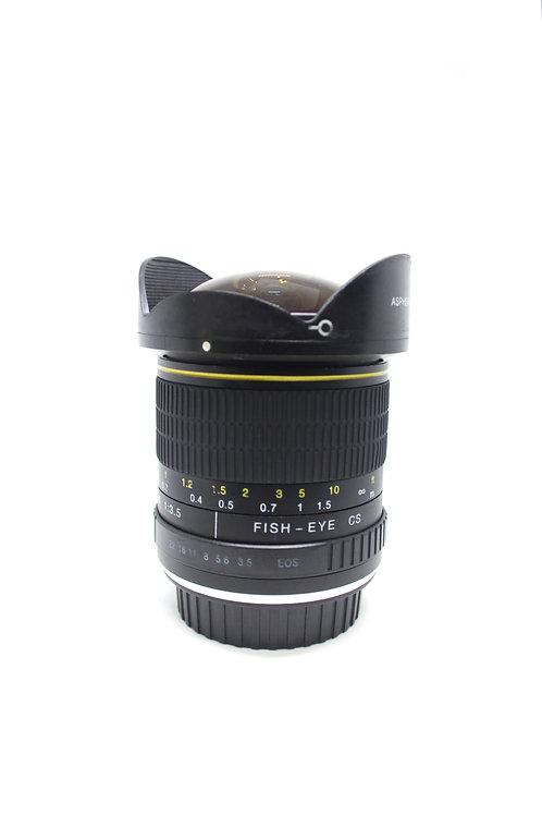 Lente Ojo de Pez para Canon 6.5mm
