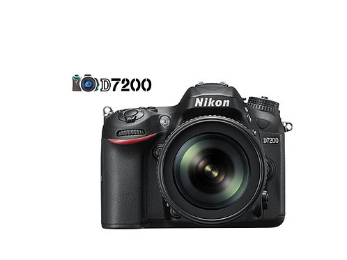 NIKON D7200 CON LENTE 18-140MM