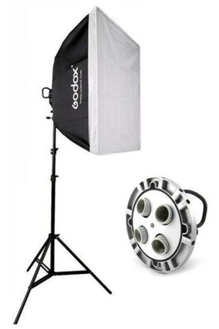 Softbox 60x60 Godox luz continua