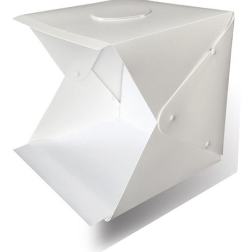 Caja de luz 40x40cm con doble tira de luces Led