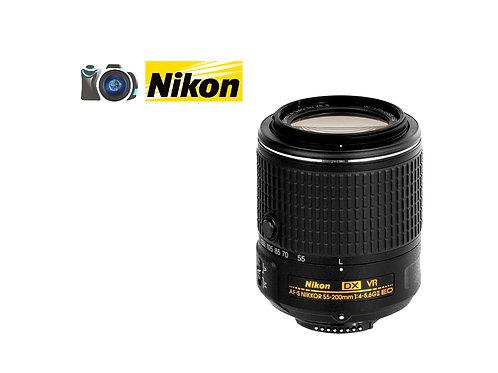 LENTE NIKON 55-200 F4-5.6 DX VR