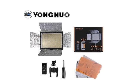 LUZ LED YN300 III+PILA Y CARGADOR