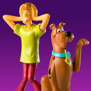 Coleção Scooby Doo - Burger King Brasil