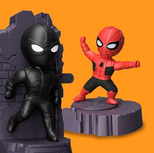 Coleção Spider-Man - Burger King Brasil