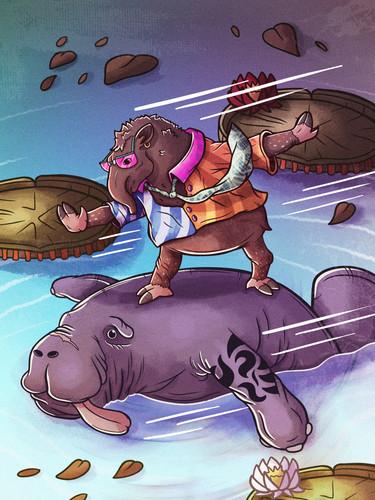 O Anta e A Peixe-boi Marinho