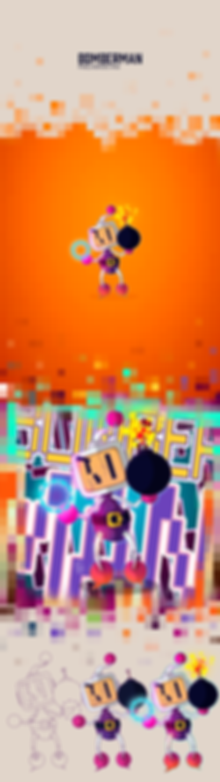 Behance---Pixelheroes-#06---Bomberman.pn