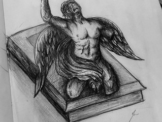 Escultura de bronce