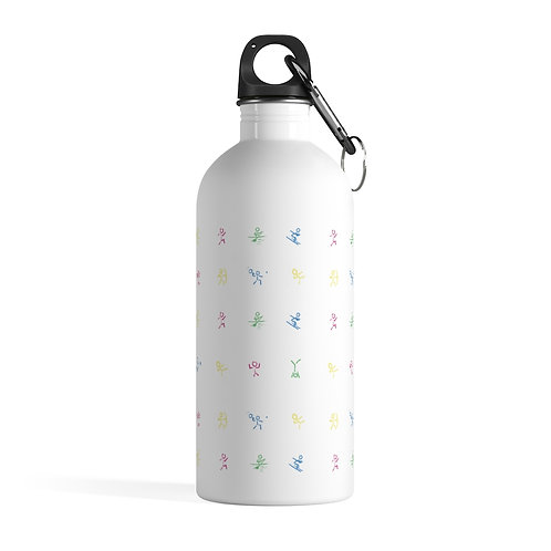 PLAY Icons Stainless Steel Water Bottle