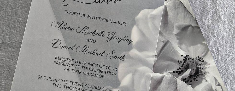 Alura Black and White Rose Wedding Suite