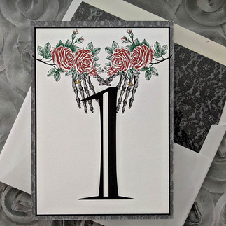 Gothic Skeleton Wedding