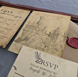 Jolien and Mark Harry Potter Wedding
