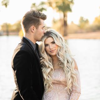 Kendall and Zac Hyzdu Maternity Portrait