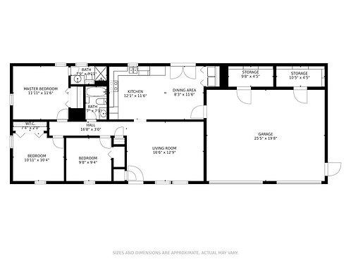 Floor Plan W/Room Measurements