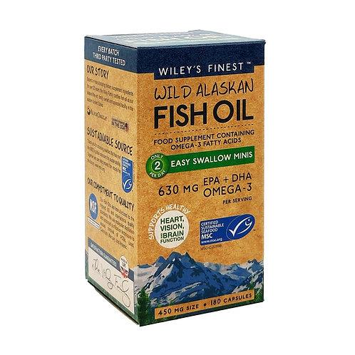 Wiley's Wild Alaskan Fish Oil (180 capsules)