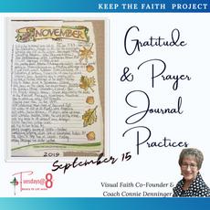 Gratitude & Prayer Journal Practices
