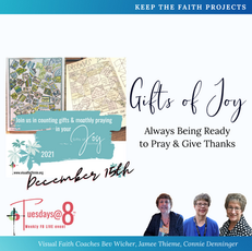 Gifts of Joy- Always Being Ready to Pray & Give Thanks