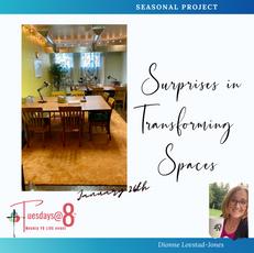Surprises in Transforming Spaces