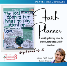Faith Planner- A Gathering Place for Prayers, Scripture & Daily Devotions