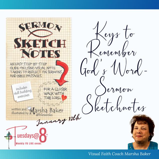 Keys to Remember God's Word-Sermon Sketchnotes