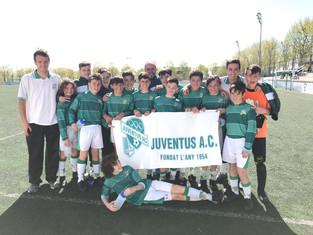 Sensacional victòria de l'Infantil C davant d'un dels equips més forts de la categoria