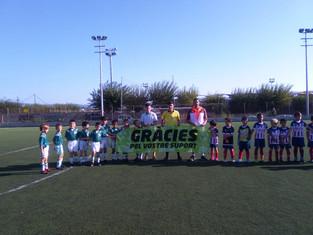 El Pre B guanya en un molt bon partit a Vilassar de Mar