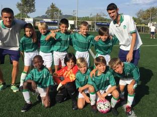 Primer partit de Lliga per el Benjamí A i primers tres punts.