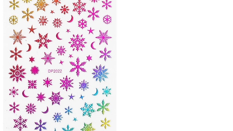 Rainbow Winter Stickers