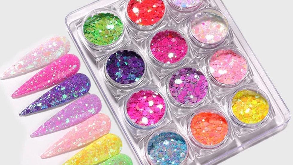 """PRETTY Girl Winter""  Glitter Set"