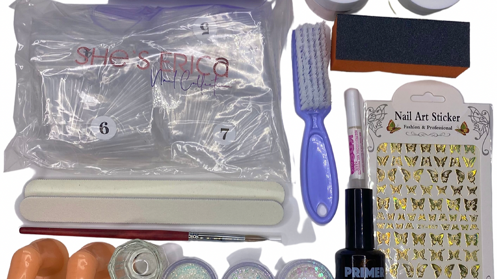 Beginner Glitter Acrylic Kit