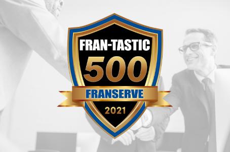 Global Financial Training Program Recognized in FranServe's 2021 FRAN-TASTIC 500